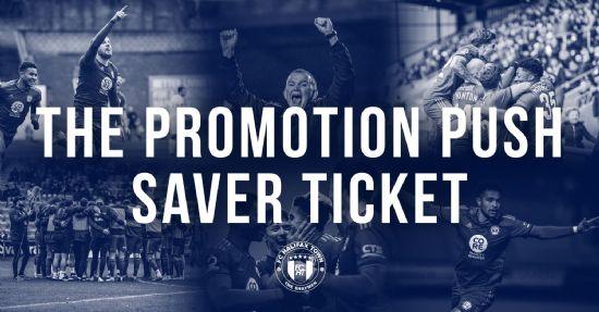 THE PROMOTION SAVER TICKET